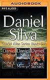 img - for Daniel Silva - Gabriel Allon Series: Books 5-7: Prince of Fire, The Messenger, The Secret Servant book / textbook / text book