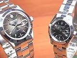 [スイスミリタリー]SWISS MILITARY 腕時計 ペアウォッチ  ELEGANT エレガント ペアウォッチ 【文字盤カラー ブラックグレー】 ML179-ML181
