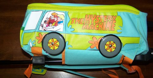 Scooby Doo Mystery Machine Rolling Backpack
