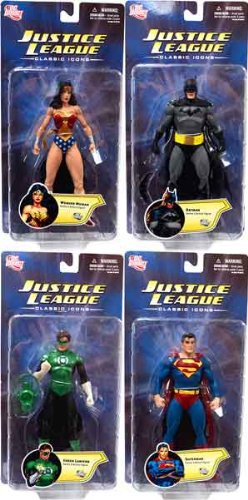 JLA Classic Icons BATMAN 6in Action Figure DC Direct Toys