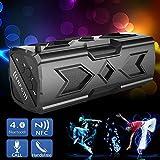 Jgglobe Sports Wireless Bluetooth Speakers Dustproof Shockproof Subwoofer Speaker Boombox NFC Power Bank for Sports...