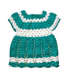 The Creators Baby Girls Sweater (6-12 Months, Green)