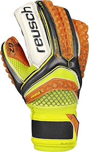 Reusch Soccer Pulse Deluxe G2 Ortho-Tec Goalkeeper Gloves.