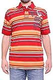 (デシグアル) Desigual 男性用ポロシャツ - マルチカラー, EU L-(日本サイズL相当)