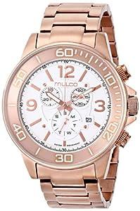 Mulco MW4-90147-331 - Reloj de pulsera hombre, acero inoxidable, color dorado