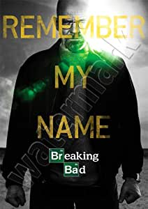 Breaking Bad Remember My Name New Season Poster A1 A2 A3 Wall Art