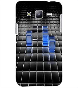 PrintDhaba Cube Design D-1963 Back Case Cover for SAMSUNG GALAXY J2 (Multi-Coloured)