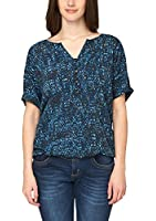 Triangle by s.Oliver Damen Regular Fit Bluse 18.503.12.7568