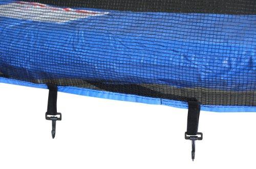 Imagen 3 de SixBros. Sport - XXL 4,00m diám. Professional Trampolín de jardín - T400 13FT   escalera   red de seguridad   lluvia cobertura   Modelo 2013
