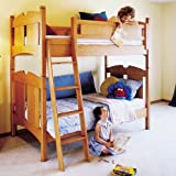 Kid's Oak Bunk Beds