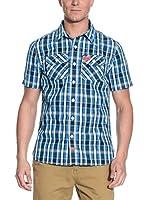 Superdry Camisa Hombre (Azul)