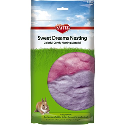 Kaytee 35gm Sweet Dreams Nesting Material, Multi Color 51LJ 2BvZKANL