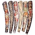 Style Lot 6-Pcs.Fake Tattoo Arm Sleeves Kit
