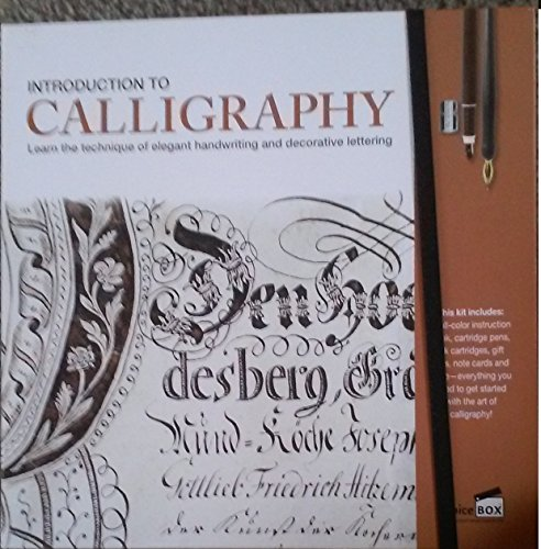 Introduction To Calligraphy Kit Learn The Technique Of