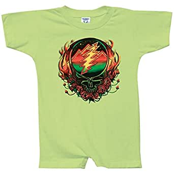 Amazon Grateful Dead Scarlet Fire SYF Romper Clothing