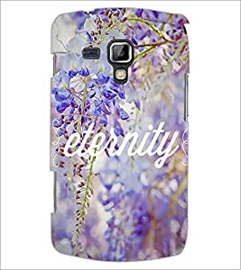 PrintDhaba Quote D-3697 Back Case Cover for SAMSUNG GALAXY S DUOS S7562 (Multi-Coloured)