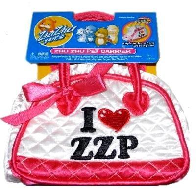 Zhu Zhu Pets Handbag Deluxe Pet Carrier - Pink front-762544