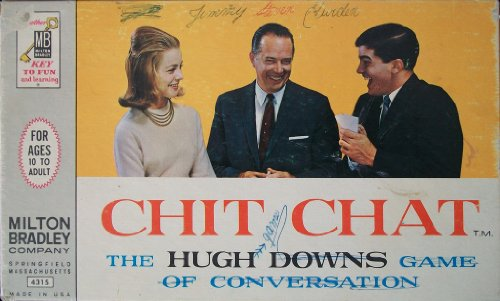 Milton Bradley Chit Chat: The Hugh Downs Game of Conversation - 1