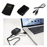 PowerSmart Digital Camera/Cell Phone/ Mobile Phone USB Battery Charger/Power Adapter for UK Panasonic HM-TA Series HM-TA2, HM-TA20 Panasonic HX-DC Series HX-DC1, HX-DC10, HX-DC10EB-K, HX-DC10EF-K, HX-DC10GK, HX-DC15, HX-DC1EB-H, HX-DC1EB-K, HX-DC1EB-R, H