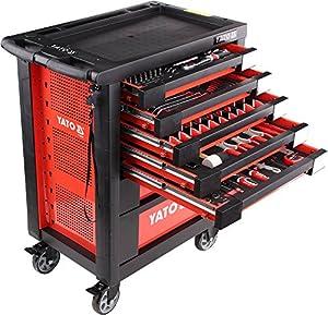 profi werkzeugwagen hochwertiges 211 tlg werkzeug kfz. Black Bedroom Furniture Sets. Home Design Ideas