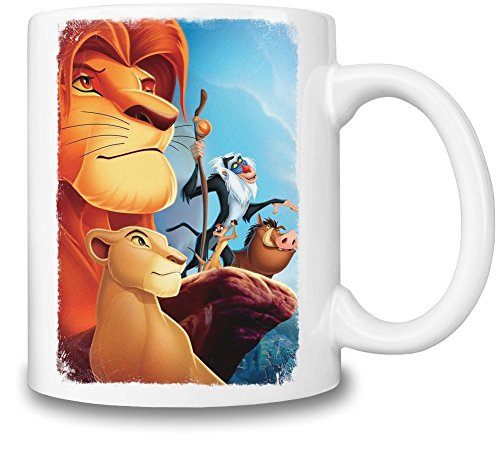 The Lion King Family Tazza Coffee Mug Ceramic Coffee Tea Beverage Kitchen Mugs By Slick Stuff