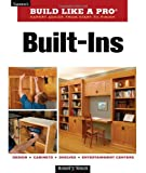 Built-Ins (Taunton's Build Like a Pro) - 1561588733
