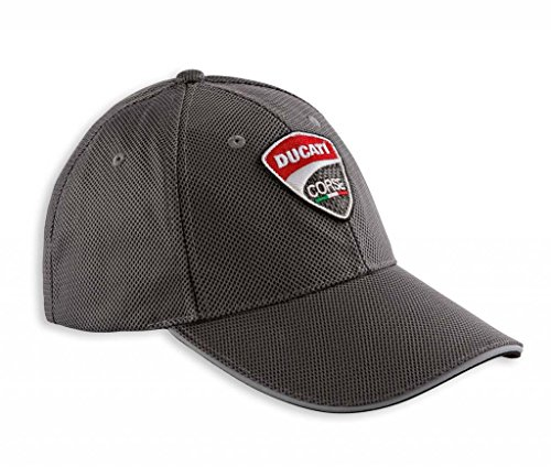 ducati-mens-corse-carbon-look-cap-one-size-grey