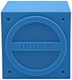 iHome Bluetooth Rechargeable Mini Speaker Cube - Blue (iBT16LC)