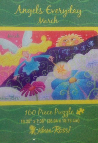 Angels Everyday March - Karen Rossi 160 Piece Puzzle