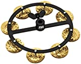 MEINL Percussion マイネル ハイハットタンバリン Headliner Series Hihat Tambourine Hammered Brass 1row HTHH1B-BK 【国内正規品】