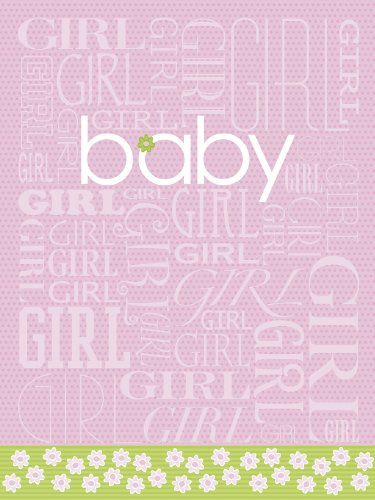 Legacy Boxed New Baby Note Cards, Pink Baby Girl, 10-Count front-59702
