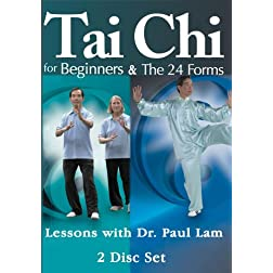 Tai Chi for Beginners & The 24 Forms with Dr. Paul Lam - 2 DVD Set (Amazon.com Exclusive)