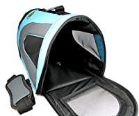 Soft Sided Pet Travel Carrier - [50% OFF Halloween Sales!] - Pet Travel Portable Bag Home for Dogs, Cats, Puppies and Other Small Animals by Pet Magasin [2-Year Warranty & 100% Money Back Guarantee]