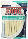 KONG PREMIUM TREATS Dental Rawhide Twist Treat for Dogs