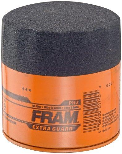 Fram PH2 Extra Guard Passenger Car Spin-On Oil Filter, Pack of 1