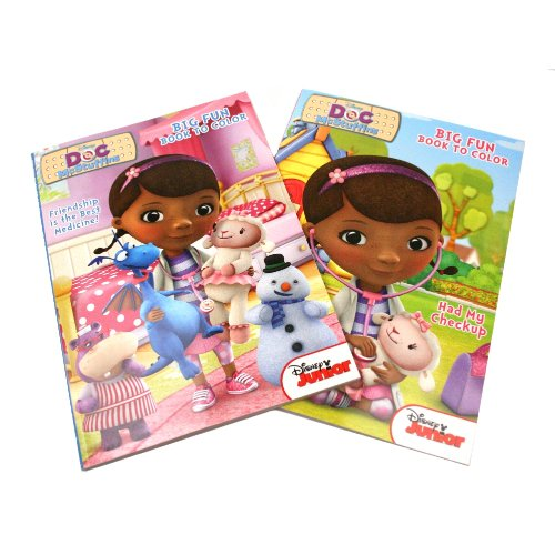 Doc Mcstuffins Big Fun Coloring Book (Item May Vary) - 1