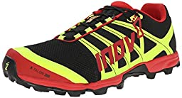 Inov-8 X-talon 200 Trail Running Shoe,Black/Red/Yellow,5.5 M US