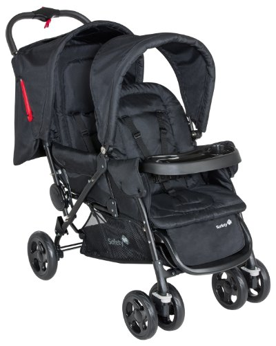 Safety 1st - Passeggino Tandem Duodeal - Full black, 11487640