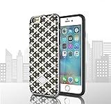 (ギジ)GIZEE iPhone 6 Plus 6S Plus 専用 耐衝撃 軽量 ネオ ハイブリッド 二重構造 スリム ケース(シルバー)