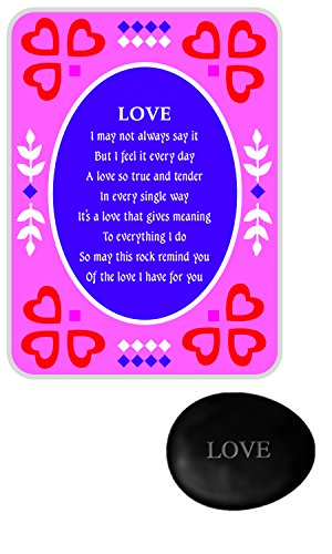 Stones of Sentiment with Tin Box, Love - 1