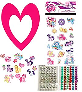 My little pony party supplies favor craft 8 decorate your for Decorate your own picture frame craft