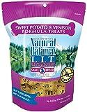 Natural Balance L.I.T. Limited Ingredient Treats Sweet Potato & Venison Formula Small Breed Dry Dog Treats, 8-Ounce