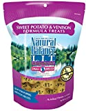 Natural Balance L.I.T. Limited Ingredient Small Breed Dog Treats, Grain Free, Sweet Potato & Venison Formula, 8-Ounce