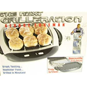 George Foreman Next Generation Contact Grill by Salton