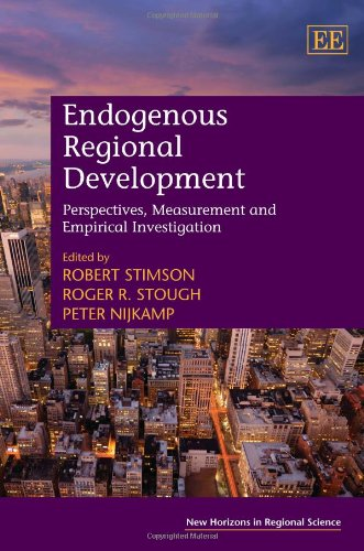 Endogenous Regional Development: Perspectives, Measurement and Empirical Investigation