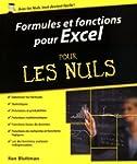 Formules et fonctions pour Excel 2013...