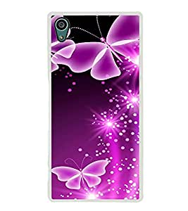 Butterflies 2D Hard Polycarbonate Designer Back Case Cover for Sony Xperia Z5 :: Sony Xperia Z5 Dual