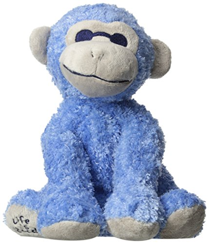 Life Is Good Monkey Plush, Riviera, One Size front-362643