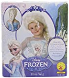 Kids Snow Queen Wig White Blonde Disney Princess Girls Fancy Dress Party Outfit