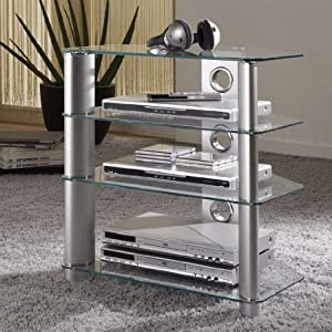 magic clear glass hifi rack 87300k 87300k kitchen home. Black Bedroom Furniture Sets. Home Design Ideas